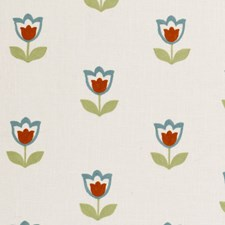Summer Embroidery Decorator Fabric by Clarke & Clarke