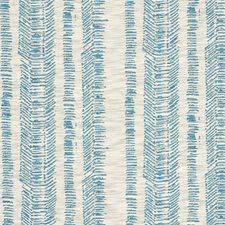 Aqua Weave Decorator Fabric by Clarke & Clarke