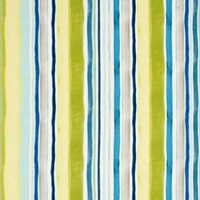 Aqua/Citrus Decorator Fabric by Clarke & Clarke