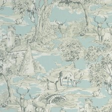 Toile Mineral Decorator Fabric by Clarke & Clarke