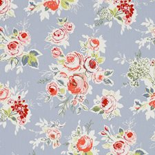 Garden Chambray Decorator Fabric by Clarke & Clarke