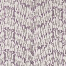 Violet Abstract Decorator Fabric by Clarke & Clarke