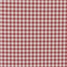 Red Weave Decorator Fabric by Clarke & Clarke