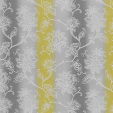 Charcoal/Chartreuse Weave Decorator Fabric by Clarke & Clarke