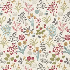 Pastel Decorator Fabric by Clarke & Clarke