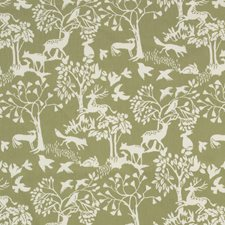 Sage Decorator Fabric by Clarke & Clarke