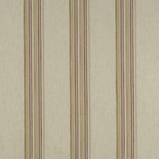 Raspberry/Apple Stripes Decorator Fabric by Clarke & Clarke