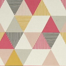 Coral Decorator Fabric by Clarke & Clarke