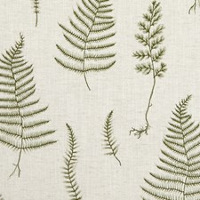 Natural/Forest Weave Decorator Fabric by Clarke & Clarke