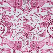 Magenta Decorator Fabric by Clarke & Clarke