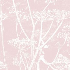 Wht Balle Slip Botanical Decorator Fabric by Cole & Son