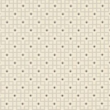 Dove Geometric Decorator Fabric by Clarke & Clarke