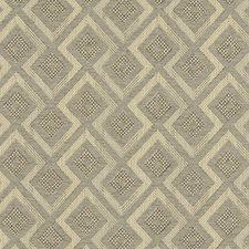 Mocha Diamond Decorator Fabric by Clarke & Clarke
