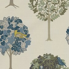 Forest/Chartreuse Decorator Fabric by Clarke & Clarke