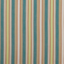 Teal/Spice Decorator Fabric by Clarke & Clarke