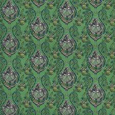 Green Animal Decorator Fabric by Clarke & Clarke
