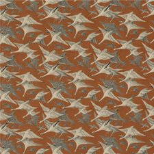 Spice Velvet Decorator Fabric by Mulberry Home
