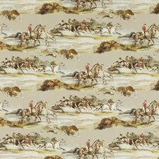 Grey/Sand Print Decorator Fabric by Mulberry Home