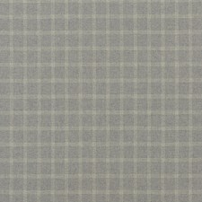 Grey Check Decorator Fabric by Mulberry Home
