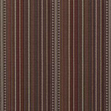 Plum Weave Decorator Fabric by Mulberry Home