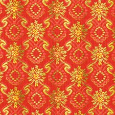 Scarlet Decorator Fabric by Robert Allen