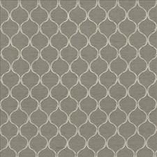 Viridian Grey Decorator Fabric by Kasmir