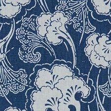 Indigo Asian Decorator Fabric by Kravet
