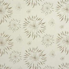 White/Taupe Contemporary Decorator Fabric by Groundworks