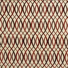 Beige/Rust Contemporary Decorator Fabric by Groundworks
