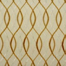 Beige/Gold Modern Decorator Fabric by Groundworks