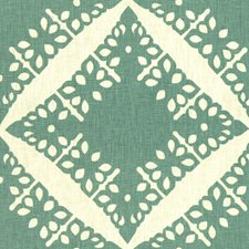 Lagoon Geometric Decorator Fabric by Groundworks