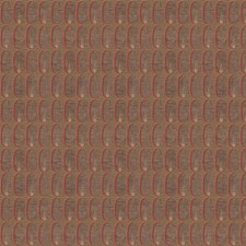 Red Modern Decorator Fabric by Groundworks