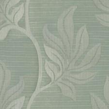 Aqua Botanical Decorator Fabric by Groundworks