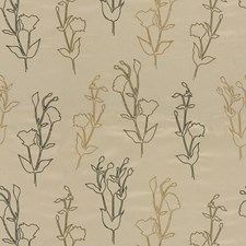 Carmel/Charcoal Outdoor Decorator Fabric by Groundworks
