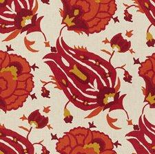 Fuchsia/Orange Ethnic Decorator Fabric by Groundworks