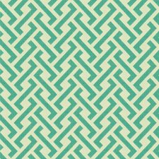 Aqua Modern Decorator Fabric by Groundworks