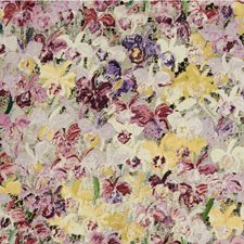 Purple/Berry Botanical Decorator Fabric by Groundworks
