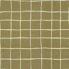 Linen/Off White Contemporary Decorator Fabric by Groundworks