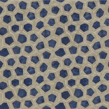 Sapphire Modern Decorator Fabric by Groundworks