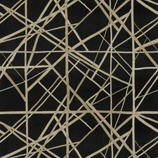 Onyx/Almond Contemporary Decorator Fabric by Groundworks