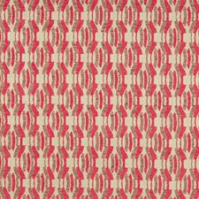 Cerise Modern Decorator Fabric by Groundworks