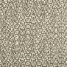 Silver Herringbone Decorator Fabric by Groundworks