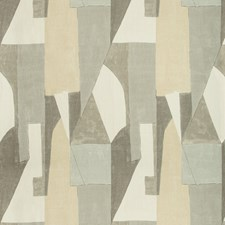 Alabaster Modern Decorator Fabric by Groundworks