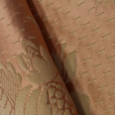 Rose/Creme Decorator Fabric by Scalamandre