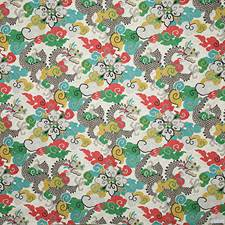 Multi Print Decorator Fabric by Pindler