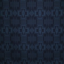 Indigo Damask Decorator Fabric by Pindler
