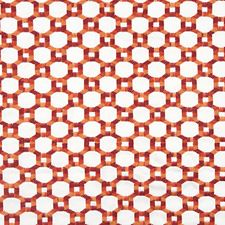 Red Decorator Fabric by Scalamandre