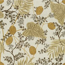 Drizzle Botanical Decorator Fabric by Kravet