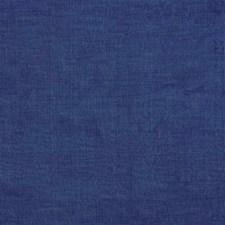 Blue Silk Decorator Fabric by G P & J Baker