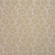 Cream Damask Decorator Fabric by G P & J Baker